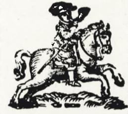 """""""Ordenliche Wochentliche Post-Zeitungen"""", München: Johann Lucas Straub, 1631 (Logo)"""