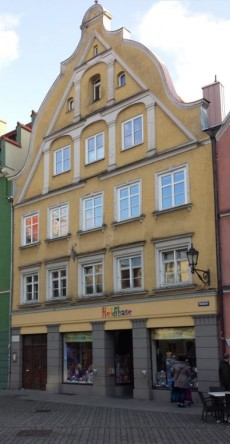 Isolani-Haus am Marktplatz Memmingen